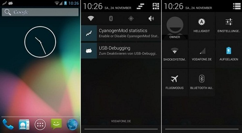 i9100g cm10.1 700x387 Samsung Galaxy S2: custom ROM with Android 4.1.2 Jelly Bean Available