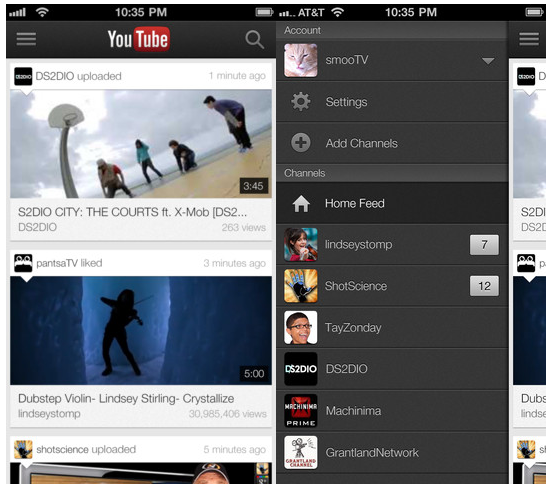Youtube-app-updated