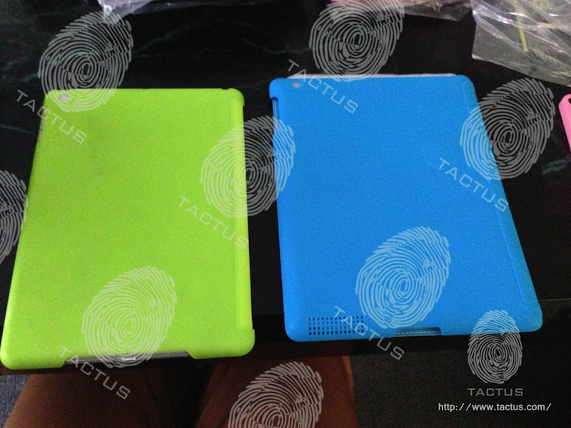Tactus iPad 5 cases iPad 5 rear shell shows new design