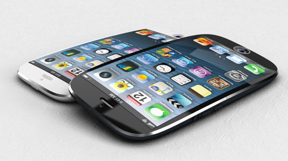 New iPhone concept with a curved screen and a fingerprint scanner [VIDEO]