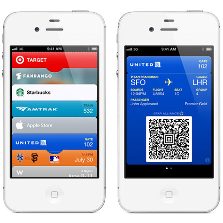 apple passbook screens Apple has patented the name brand Passbook