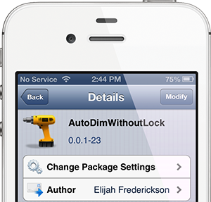 autodimwithoutlockbanner AutoDimWithoutLock dims again mild with out locking the iOS tool [Jailbreak]